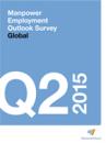 Encuesta sobre el Panorama Laboral realizada por Manpower Q2 2015