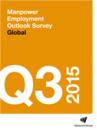 Encuesta sobre el Panorama Laboral realizada por Manpower Q3 2015